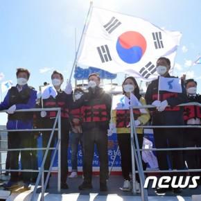 남북 '공동이용' 합의 한강하구 첫 시범 항행-KBS인터뷰